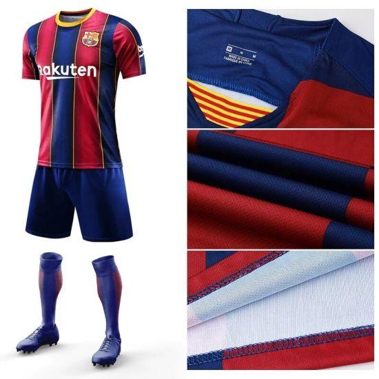 2020 2021 Barcelona Home Jersey Soccer Wear Uniform Football Shirts