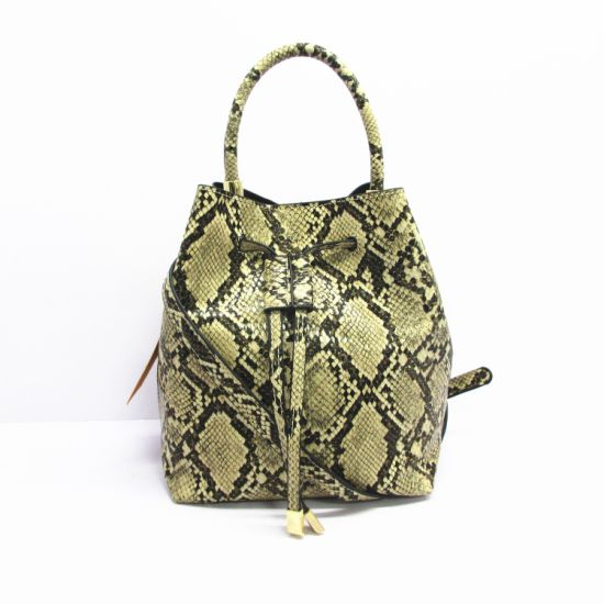 Fashionable Ladies Handbags Wholesale Www Alibaba COM Jute Shopping Bucket Tote Bags Without Stocklot A8190 pictures & photos