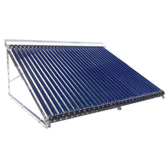 Solarkeymark Certificated Split Solar System Heat Pipe Solar Collector