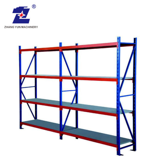 Good Quality Display Supermarket Shelf Storage Cold Rack Roll Forming Machinery Equipment