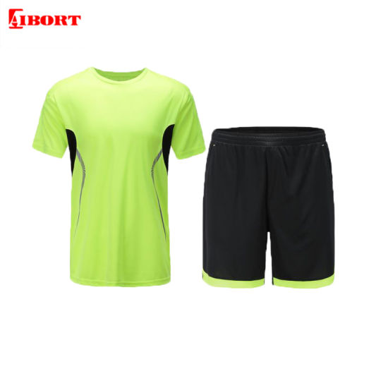 Aibort 2020 100% Polyester Top Quality Sublimation Football Shirt Soccer Jersey Uniform (V-FOOTBALL1 (2))