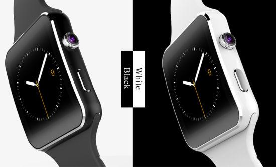 Wholesale 2020 Hot Sale 1.54 Inch Camera Support SIM Card Bluetooth 3.0 X6 Smart Watch