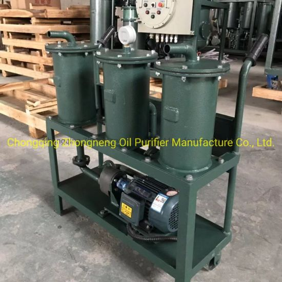 Jl Series Small Fuel Oil Purification Machine