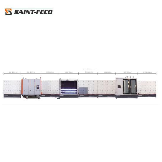 CE Certificate Insulating Glass Double Glass Processing Machine for Making Double Glass