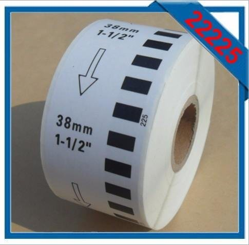 Brother Printer Compatible Thermal Label Dk-22214, Size 12mm*30.48m