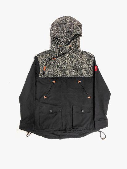 Wholesale Fashion Man'e Woven Fabric Hoody