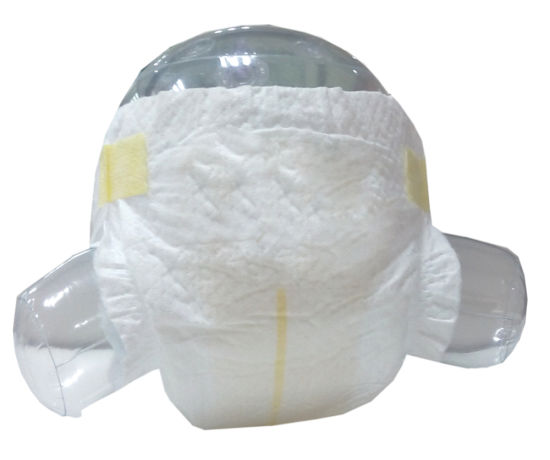 100% Cotton Pure White Soft Surface Disposable Baby Diaper