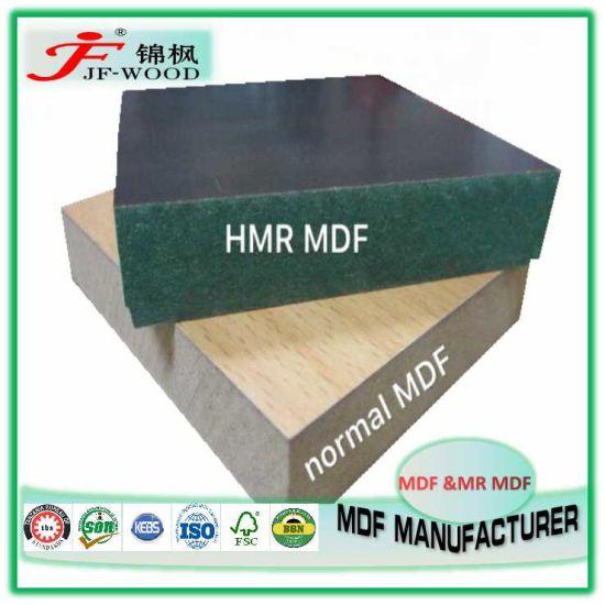 ISO Fsc Mr Green MDF 9mm 12mm 15mm 4*8FT Waterproof Melamine MDF