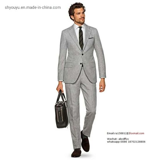 China Fashion Apparel Manufacturers New Design Fabric Business Uniform China Men Suit And Man Suit Price