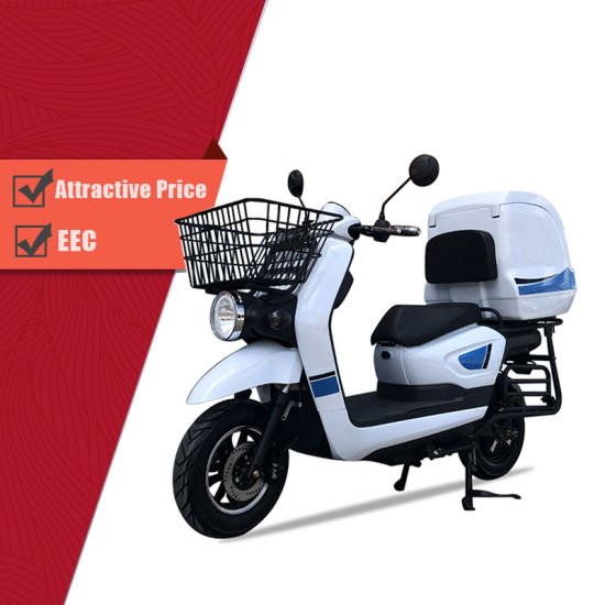 Popular E-Scooter/Electric Motorcycle Cargo Delivery Scooter for Pizza Take out with EEC Coc Certificate pictures & photos