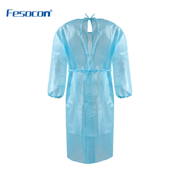 Breathability Adult Protective Medical Use for Hospital Surgical Medical Gown