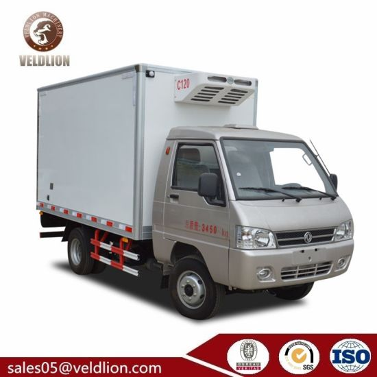 db00212e40 Dongfeng Mini 1-1.5 Tons Freezer Refrigerated Van Cooler Truck for Sale  pictures   photos