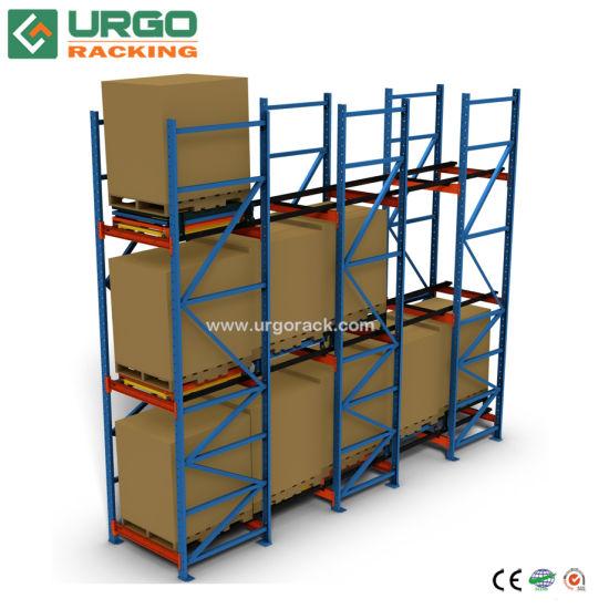 2018 Storage Gravity Roller Push Back Pallet Rack