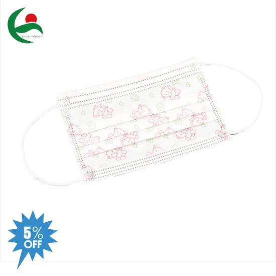 Surgical Medical Disposable Respirator Anti Virus Pm2.5 Kids Children Face Mask