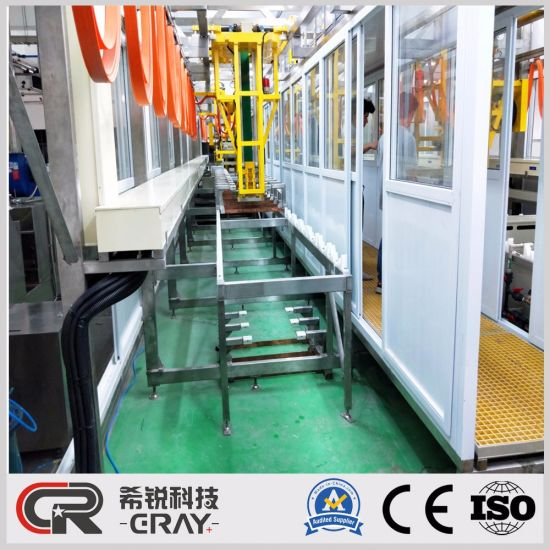 Electroless Plating Process Line for Surface Treatment Factory Metal  Coating Machine