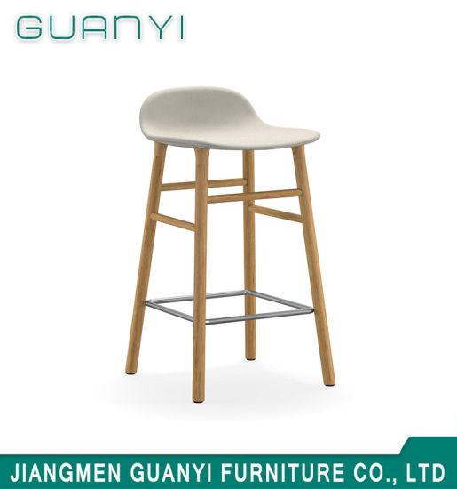 Remarkable China Modern Hardwood Ash Wood Bar Stools China Bar Stool Machost Co Dining Chair Design Ideas Machostcouk