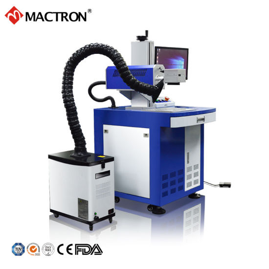 30W CO2 Laser Marking / Engraving / Printing Machine for Leather / Plastic