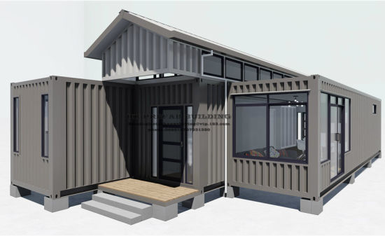 Good Quality Modified Modular Prefab Shipping Container House. pictures & photos