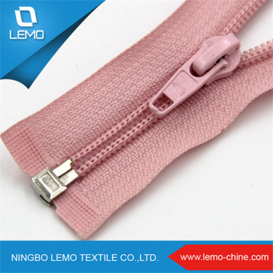 2018 Auto Lock Hot Sales Custom Invisible Nylon Zipper