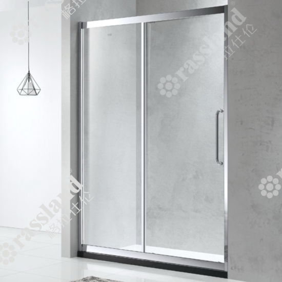 Zhongshan China Bathroom Toughened Glass Sliding Simple Whole Shower Door Room