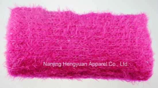 100% acrylic Scarf with Different Colour (HY15020) pictures & photos
