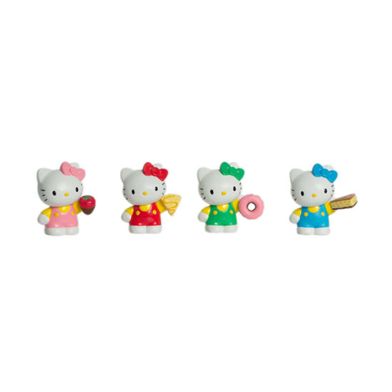 Plastic Hello Kitty Figure Set pictures & photos