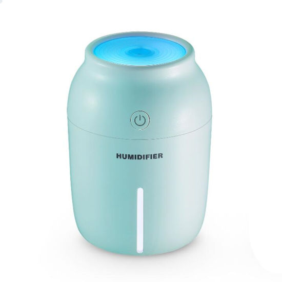 230ml Ultrasonic Mini USB Air Humidifier with LED Night Light pictures & photos