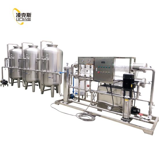 Water Reverse Osimosis System/Water Treatment Equipment/Water Treatment Filter Plant pictures & photos