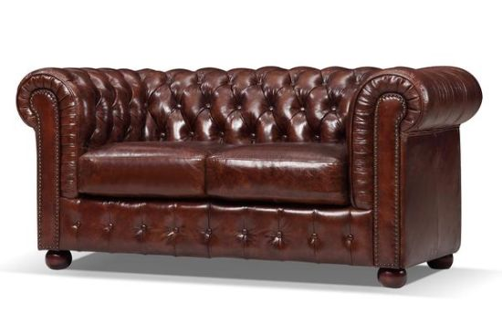 Best Selling Luxury Modern Furniture Vintage Leather Chesterfield Sofa