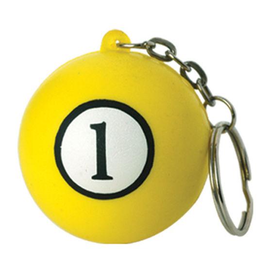 Promotion Mini Badminton Tennis Ball Keychain