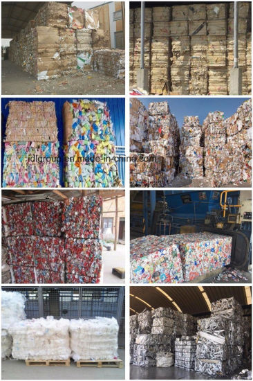 China Baling Machine for Waste Paper and Cardboard