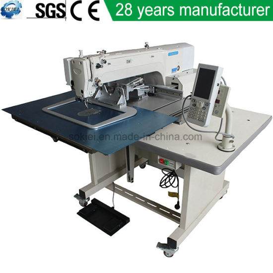 Automatic Garment Industrial Computerized Programmable Pattern Stitching Sewing Machine