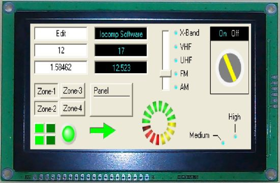 """4.3"""" TFT LCD display module interface with MCU Interface"""
