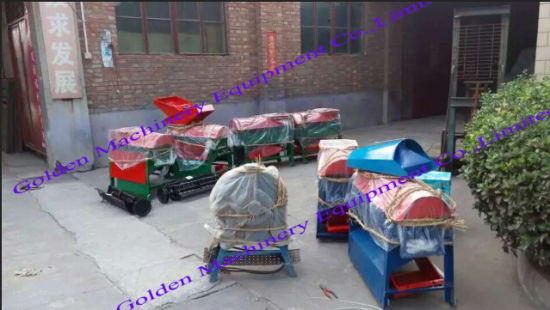 Combined Corn Maize Sheller Peeler Thresher Processing Machine pictures & photos
