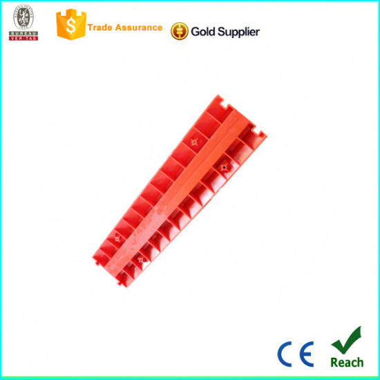Durable Yellow and Red 2 Channels Cable Protector pictures & photos