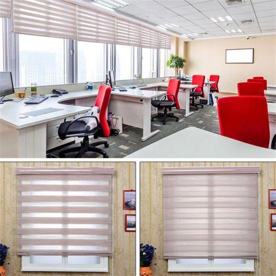 Window Finshed Products Blinds Blackout Zebra Blinds 12 Colors for Sales Promotion
