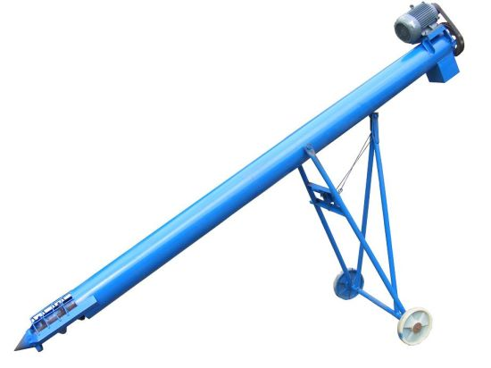 China Wheat Maize Beans Screw Auger Elevator - China Grain