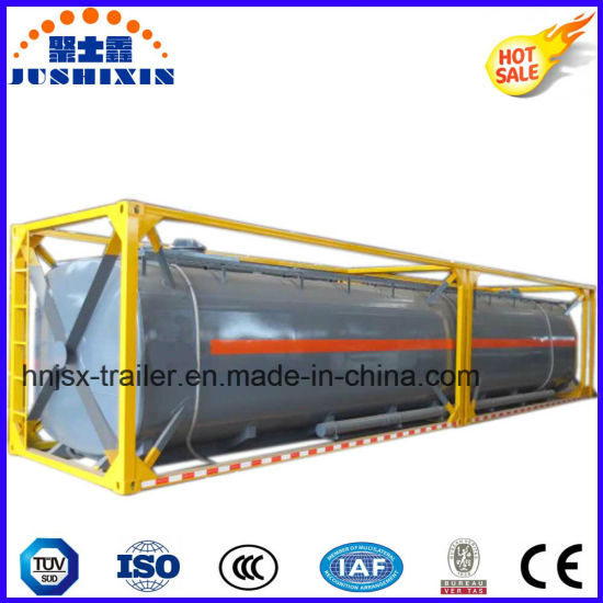 China High Quality 18500L Diesel Fuel Storage Tank Container China