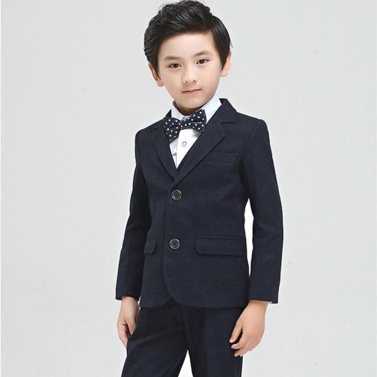 Wholesale Clothing Manufacturers Children Blazer Suit for Kids