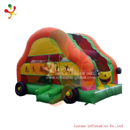 Good Quality Inflatable Combo Inflatable Car Bouncer (LY-BO295) pictures & photos