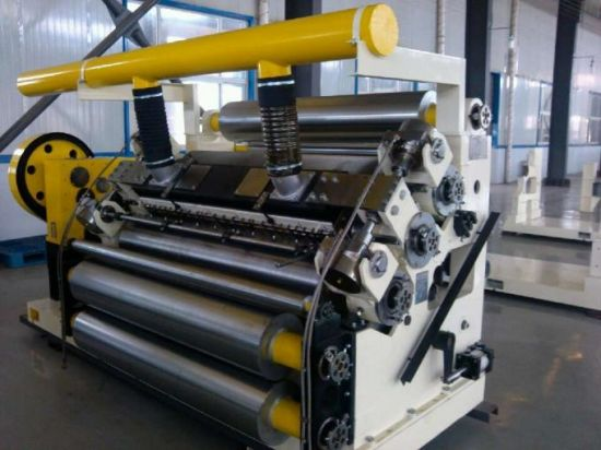 DW-3/4/5 Corrugated Fingerless Single Facer Machine pictures & photos