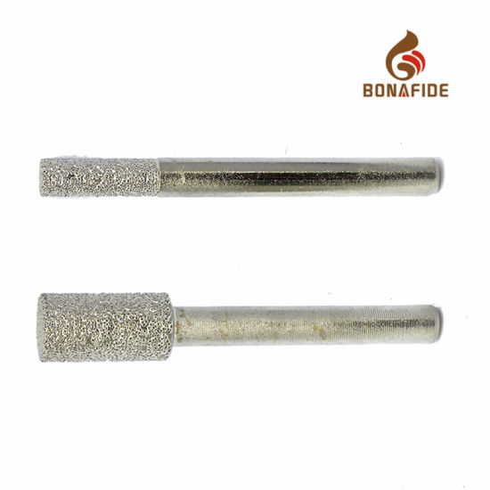 Different Shapes of Diamond Mounted Points Carving Tools pictures & photos