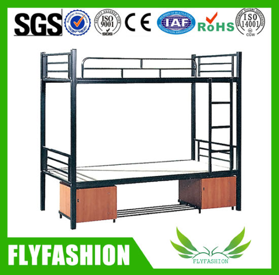 High Quality Metal Bunk Bed with Cabinet (BD-25)