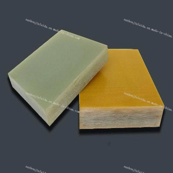 Good Flatness Green Fabric Glass (FR-4) Sheet pictures & photos