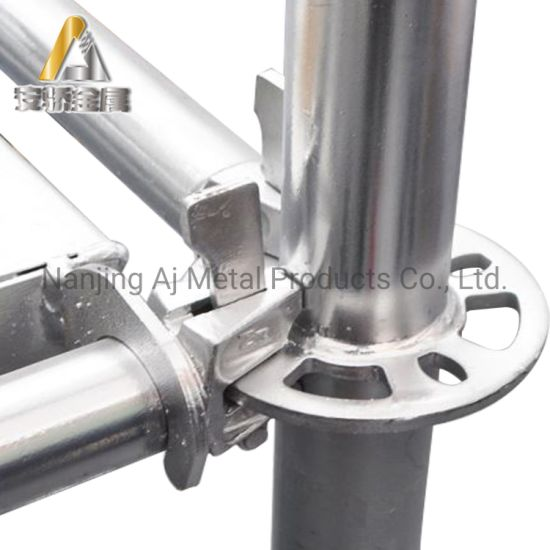 Galvanized Steel Ringlock Cuplock Scaffolding System Construction Used Scaffolding