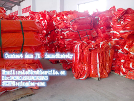 PVC Oil Boom, PVC Flotable Oil Containment Boom pictures & photos