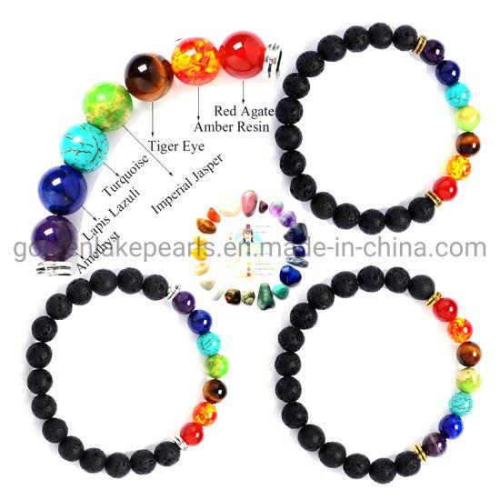 Natural Stone 7 Chakra Jewelry Beads