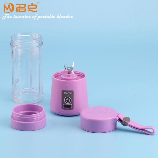 Wholesale USB Rechargeable Mini Plastic Juice Blender Blade