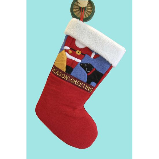2020 Newdesign OEM Christmas Stocking pictures & photos