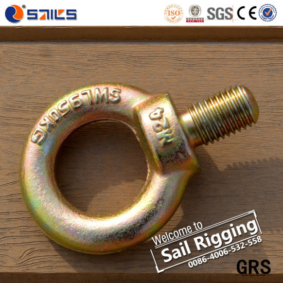 Good Quality Carbon Steel Galvanized Eye Bolts pictures & photos